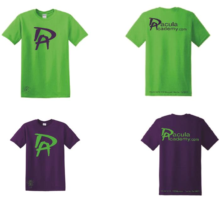 Dacula T shirts 2017